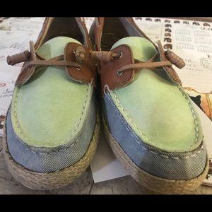 Sam Edelman women's boat shoes 9.5 Sebastian
